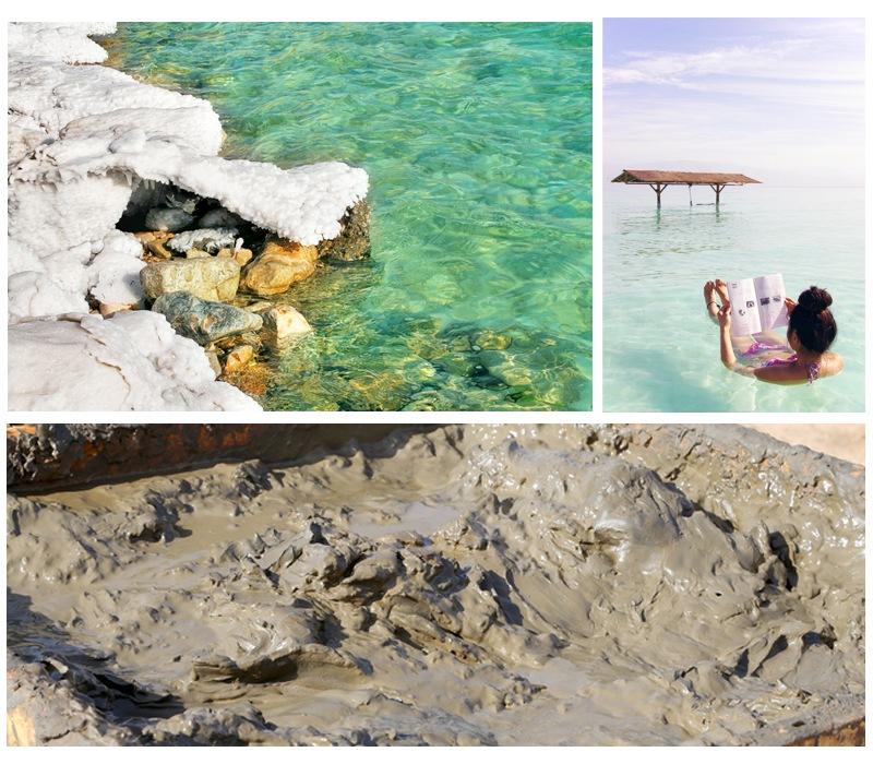 死海の天然ミネラルは海水の10倍以上