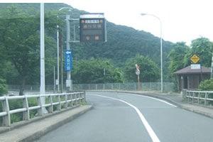 青戸大橋を渡ってすぐ左折