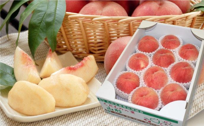 品種おまかせ白桃3kg