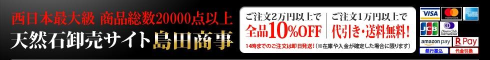 お買い上げ1万円以上で代引き・宅配送料無料!14時までのご注文は即日発送
