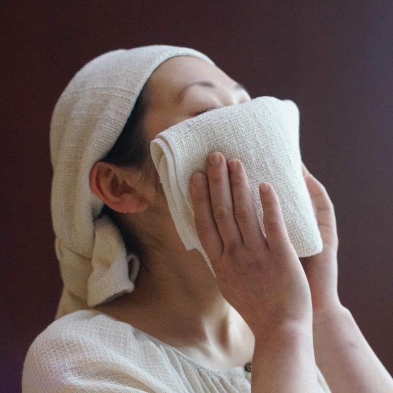 オーガニックコットン洗顔・お風呂