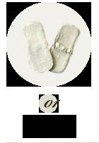 布ナプキン|ふんわりさらり 布ライナーミニ
