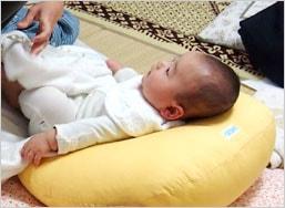 赤ちゃんのベッドにもなります