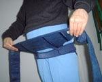 妊婦帯のつけ方2