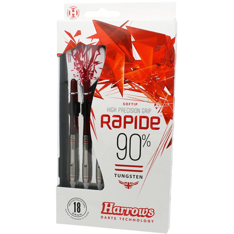 【Harrows】RAPIDE 90% Style A  ソフトダーツ ハローズ ラピード 18gR