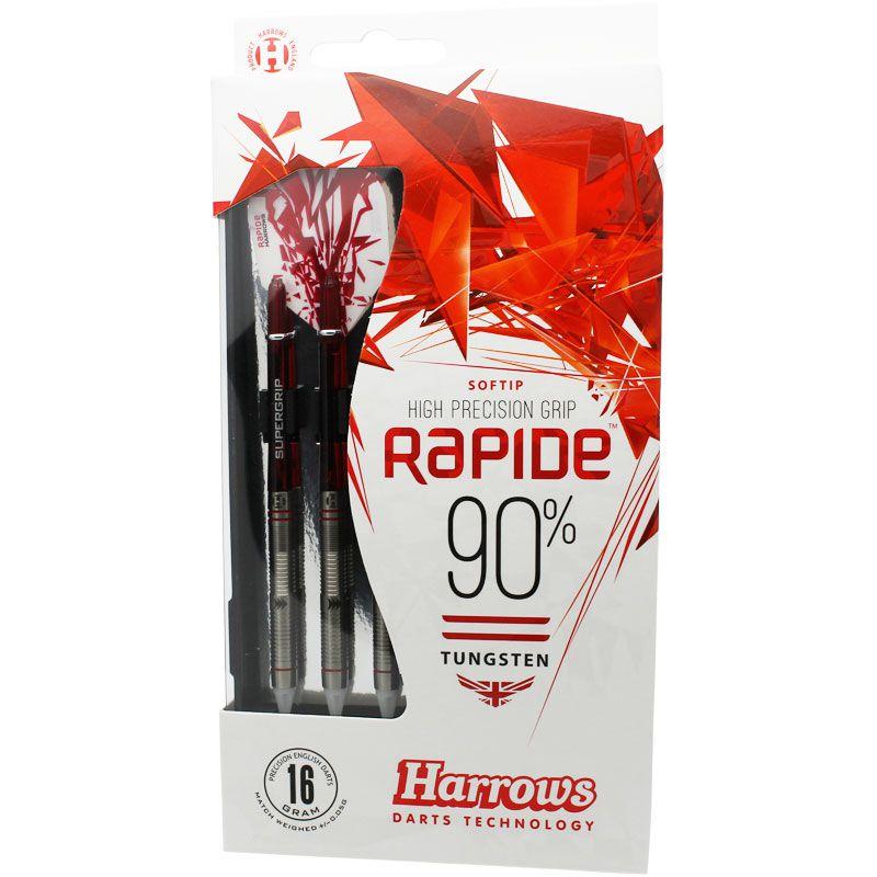 【Harrows】RAPIDE 90% Style B  ソフトダーツ ハローズ ラピード 16gR