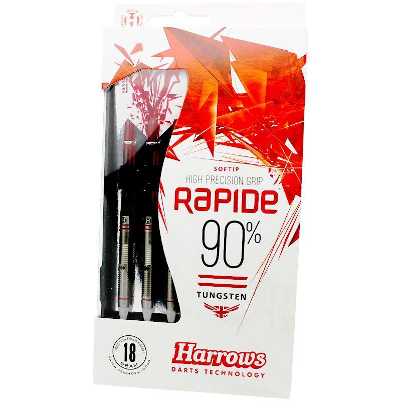 【Harrows】RAPIDE 90% Style B  ソフトダーツ ハローズ ラピード 18gR
