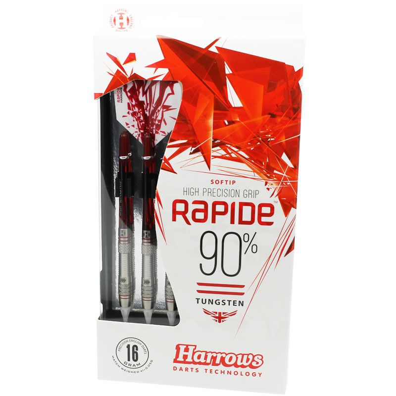 【Harrows】RAPIDE 90% Style A  ソフトダーツ ハローズ ラピード 16gK