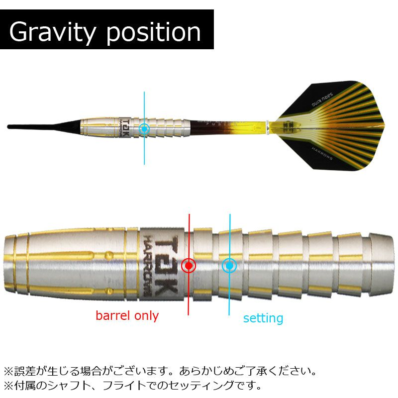 【Harrows】SARU KING 鈴木猛大モデル ハローズ ソフトダーツ プロプレイヤーモデル サルキング