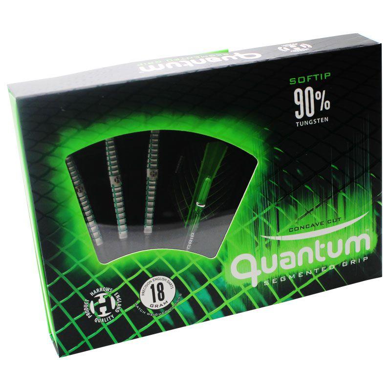 【Harrows】 QUANTUM 90% 18gR ハローズ ソフトダーツ バレル クアンタム タングステン90%