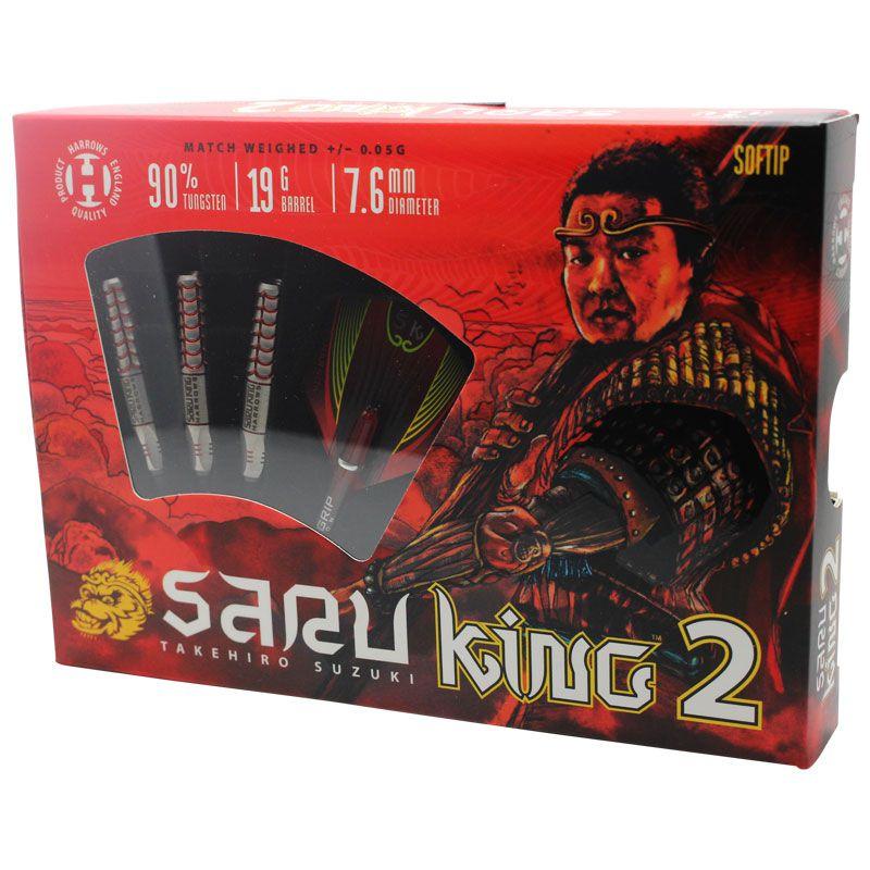 【Harrows】SARU KING2 鈴木猛大 ハローズ サルキング2 ダーツ バレル