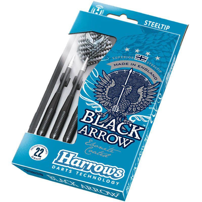 【Harrows】 BLACK ARROW 20gK ハローズ ハードダーツバレル ブラックアロー Steel