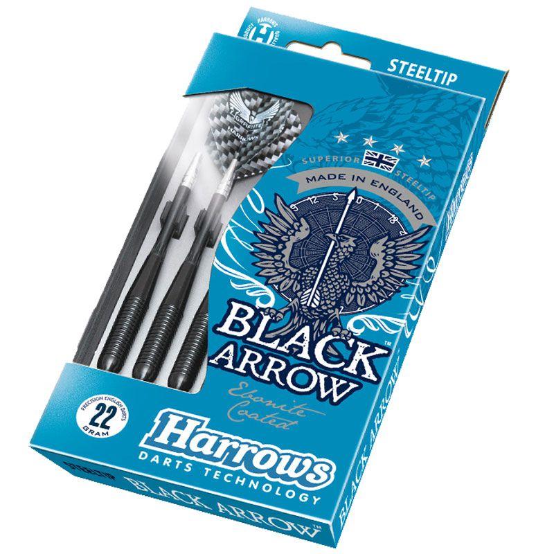 【Harrows】 BLACK ARROW 23gK ハローズ ハードダーツバレル ブラックアロー Steel