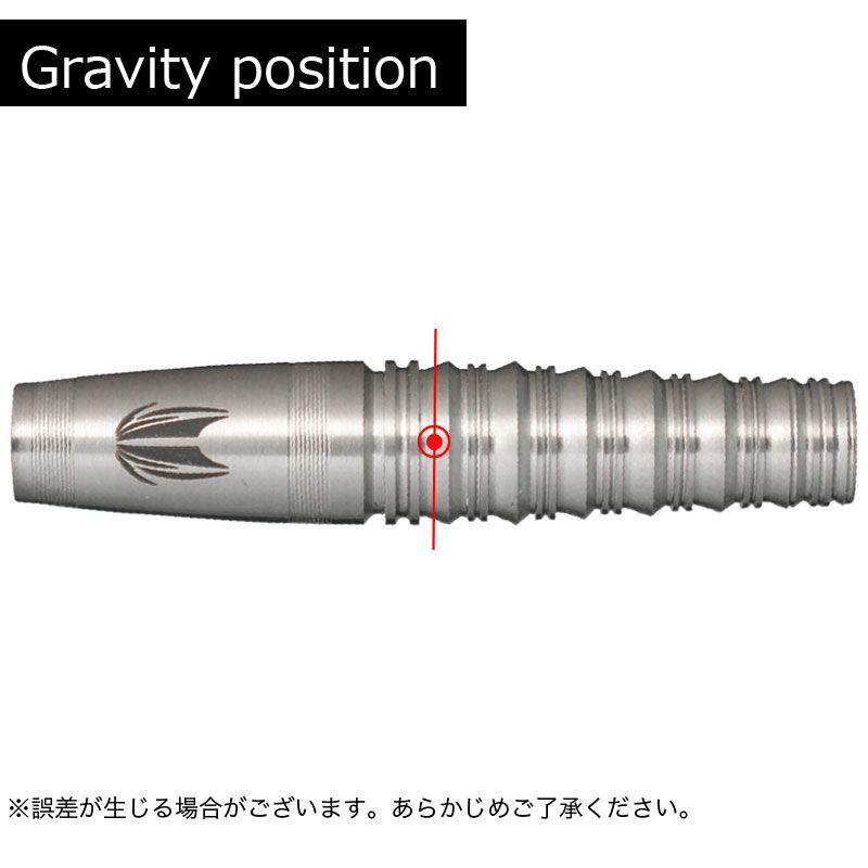【Target】PYRO BLAZING SHADOW 80 ターゲット ソフトダーツ バレル パイロ ブレイジングシャドウ エイトゼロ 星野光正モデル