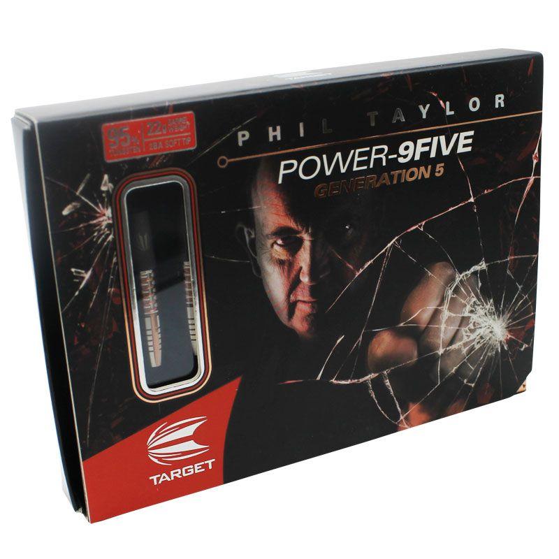 【target】 パワー9FIVE オリジナル GEN-5 SOFT TIP ターゲット フィルテイラーモデル POWER95 ジェネレーション5 ソフトダーツ バレル