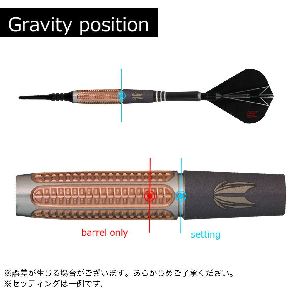 【target】 パワー9FIVE GEN-5 ROW 2018 20g ターゲット フィルテイラー パワーナインファイブ ダーツ