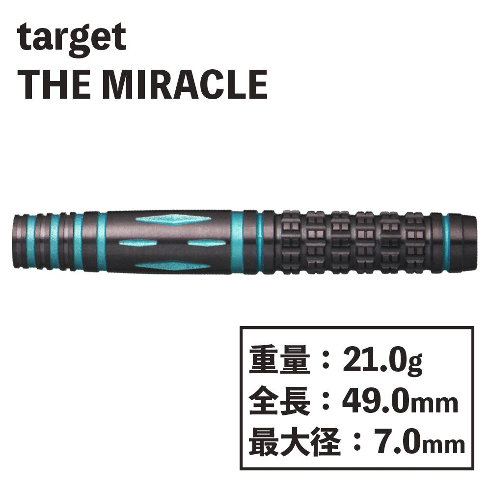 【target】THE MIRACLE 鈴木未来 ターゲット ザ ミラクル ダーツ
