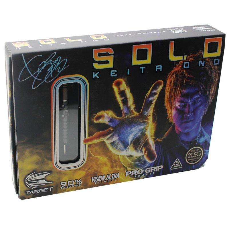 【target】SOLO小野恵太 STEEL LIMITED ターゲット ソロ スティールダーツ タングステン リミテッドエディション