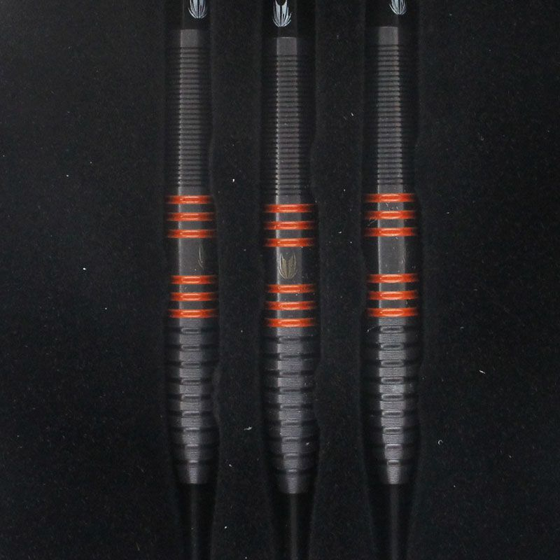 【target】RVB 80ブラック  STEEL 24g ターゲット ハードダーツバレル レイモンド・ヴァン・バーナベルド選手モデル バーニー