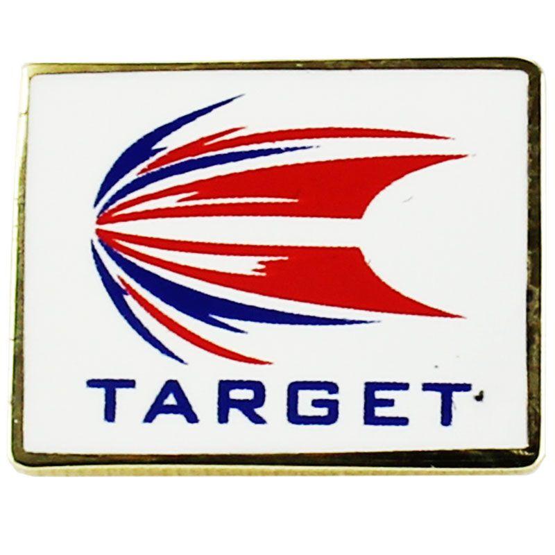 【Target】 ピンバッジ【ダーツアクセサリー】