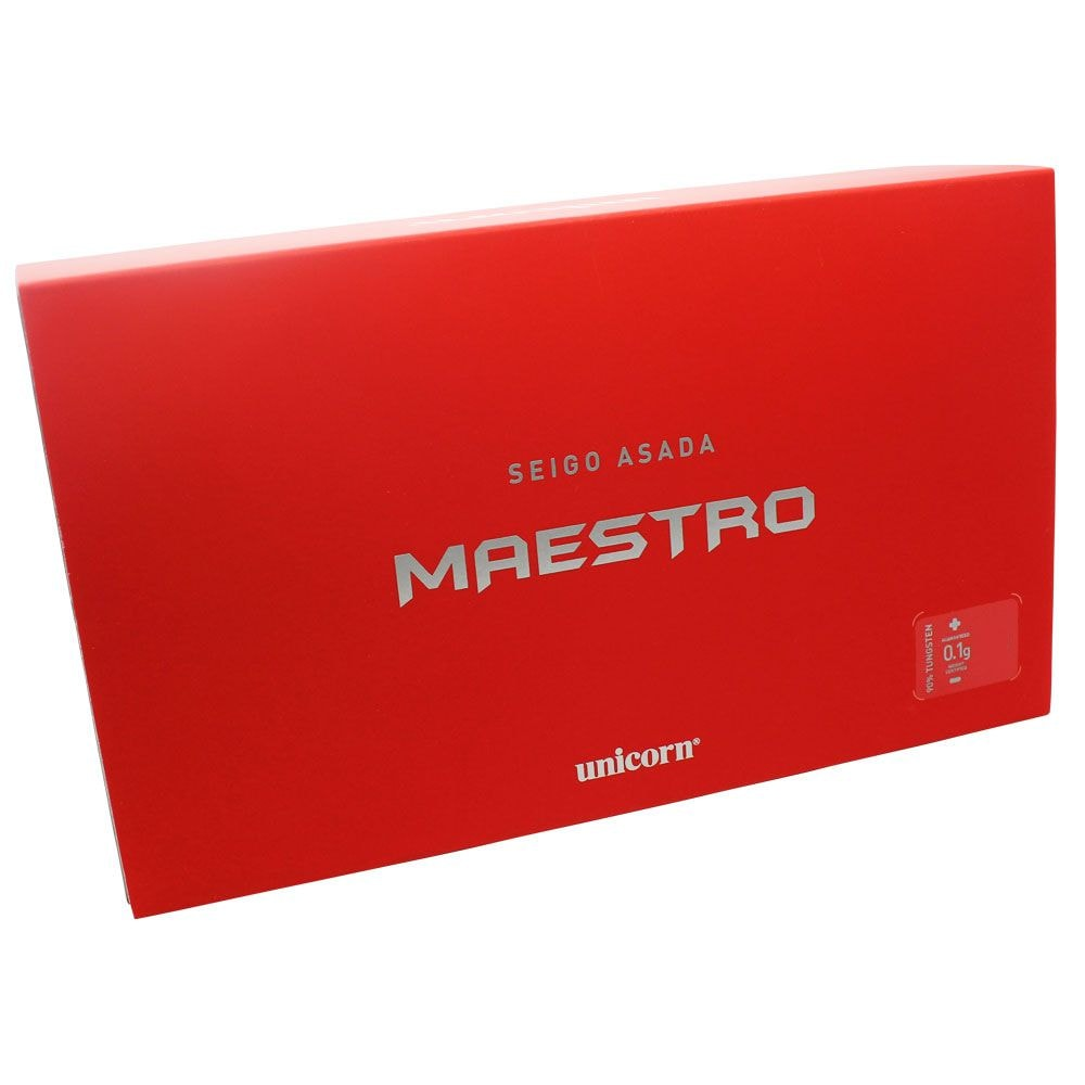【unicorn】 MAESTRO 90% SEIGO  23G 12310 steel  ユニコーン マエストロ 浅田斉吾 ダーツ ハード