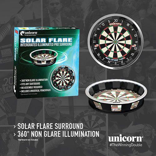 【unicorn】 PRO DARTSBOARD SURROUND  SOLAR FLARE ユニコーン プロダーツボードサラウンド ソーラーフレア