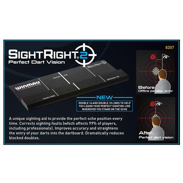 【Winmau】 SightRight2 ウィンマウ サイトライト2