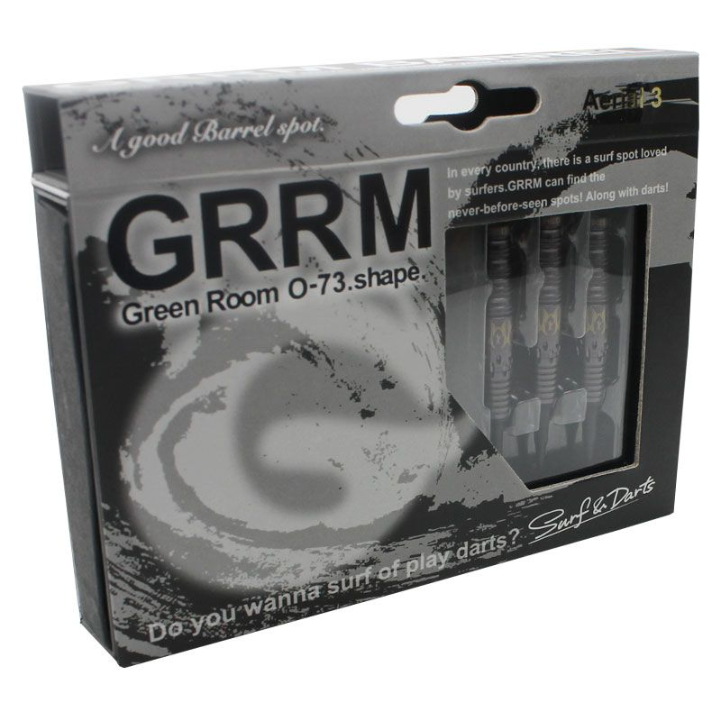 【GREEN ROOM】Aerial3 限定ブラック グリーンルーム ポセイドンシリーズ  宇佐美慶モデル エアリアル3 ソフトダーツ タングステン バレル ブラックリミテッド