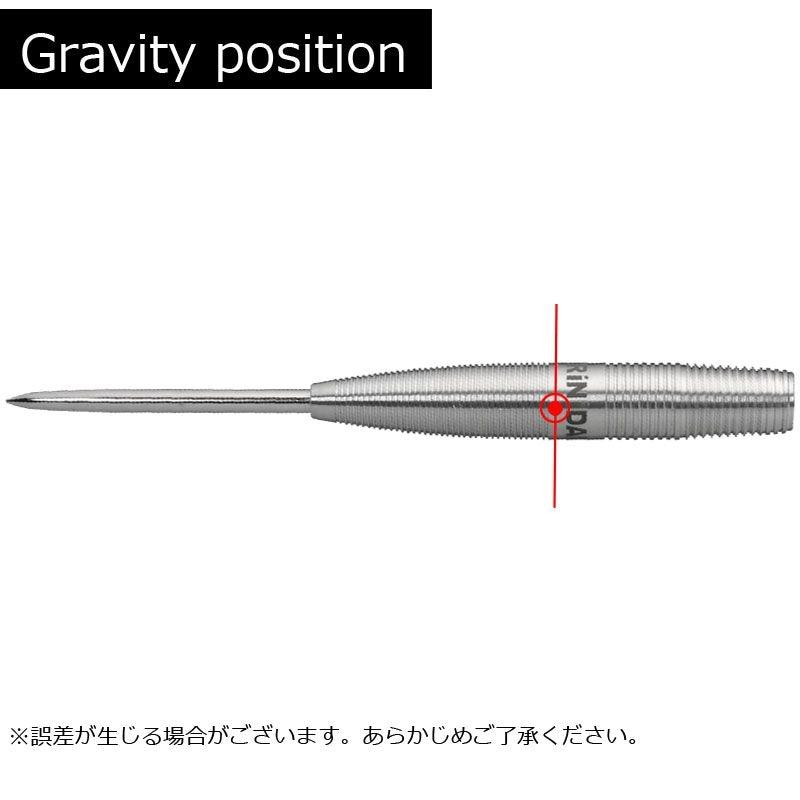 【TRiNiDAD】Gomezゴメス Type7  トリニダードダーツ山田勇樹モデル Steel