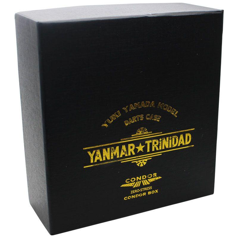 【TRiNiDAD】山田勇樹レプリカダーツケース ブラック×ホワイト