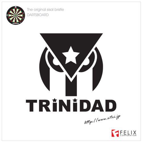 【Trinidad】 トリニダードハードダーツボード 13.2インチ(ハードダーツ規格)