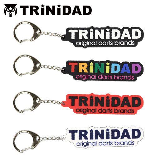 【Trinidad】 PHOENicA ラバーキーホルダー レインボウ  トリニダード×フェニカ フェニックスゲームカード ソフトダーツ用