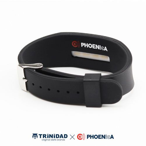 【Trinidad】 PHOENicA  ラバーリストバンド ホワイト トリニダード フェニカ ゲームカード