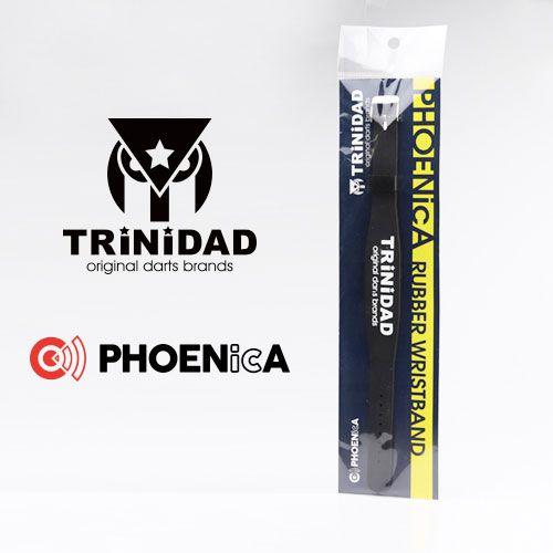 【Trinidad】 PHOENicA  ラバーリストバンド レッド トリニダード フェニカ ゲームカード