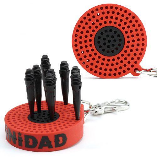 【TRiNiDAD】 BULL型TIPホルダー レッド トリニダード チップホルダー ダーツ用