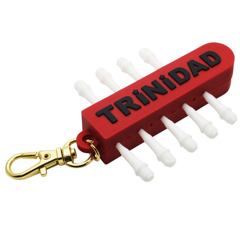 【TRiNiDAD】 チップホルダー&リムーバー シンプルロゴブラック トリニダード ダーツ用ツール