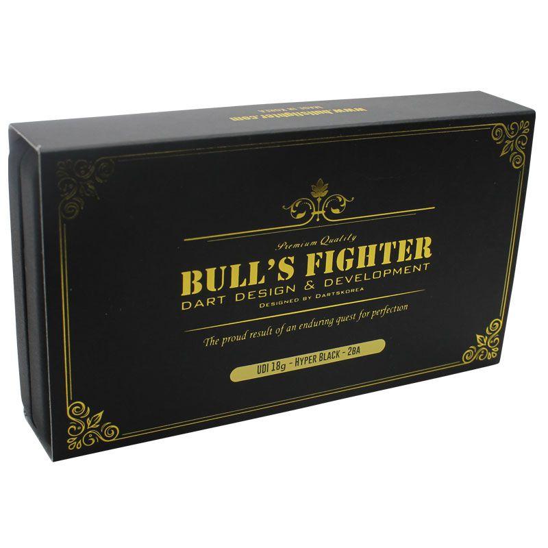 【Bull'sFighter】Udi Hyper Black ブルズファイター ソフトダーツ タングステンダーツ タングステン ハイパーブラック