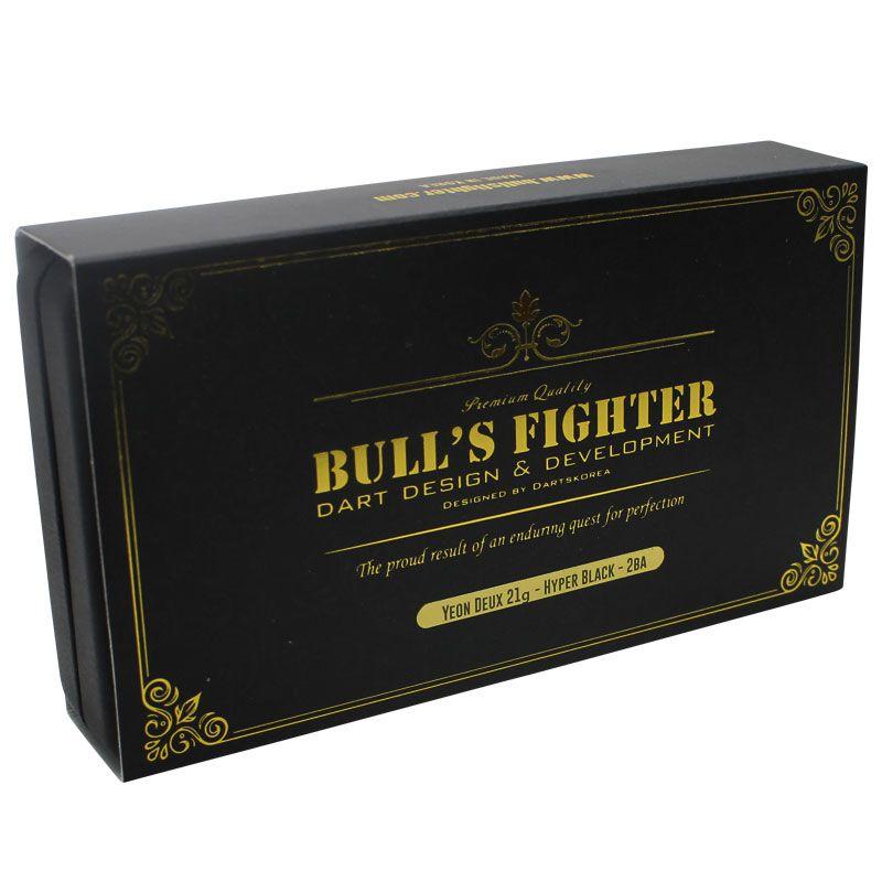 【Bull'sFighter】YeonDeux21g Hyper Black ブルズファイター ソフトダーツ タングステンダーツ タングステン ハイパーブラック