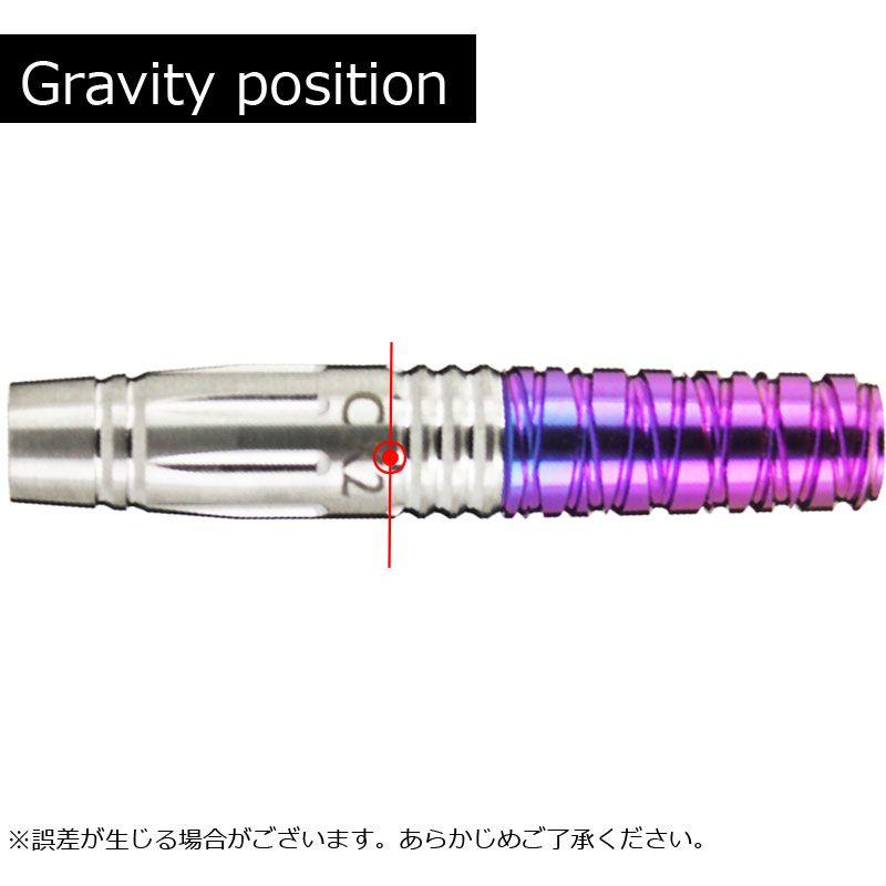 【Samurai fusion】 サムライダーツ フュージョン ヘリカル CX2 シーエックスツー