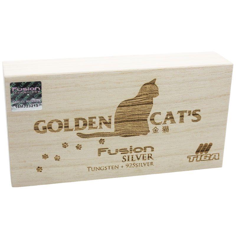 【Tiga】FusionSilver GOLDEN CAT`S ティガ ソフトダーツ バレル フュージョンシルバー 純銀 ゴールデンキャッツ 猫ダーツ