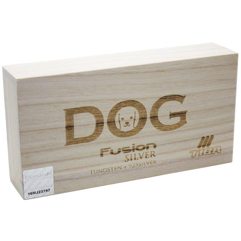 【Tiga】Fusion Silver DOG ティガ フュージョンシルバー ドッグ タングステン&純銀 ダーツバレル 犬ダーツ