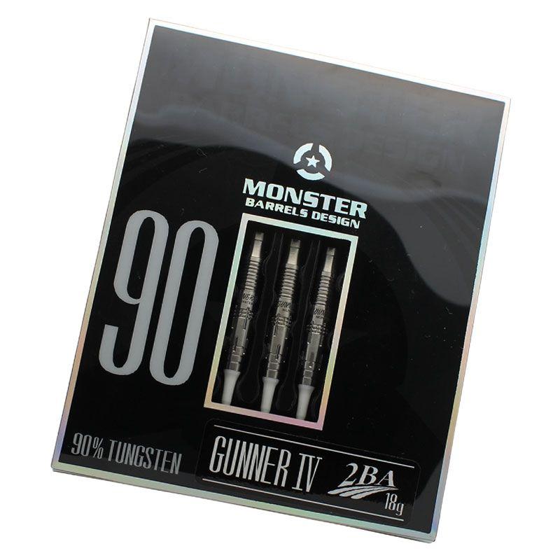 【Monster】GUNNER4 アンコーティング モンスター ソフトダーツバレル ガンナー4 シルバーモデル ローレンスイラガン