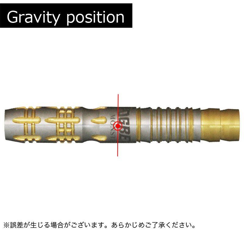 【Monster】OGRE VI オーガ6 2BA 18g モンスター ソフトダーツ バレル 橋本守容 アニー