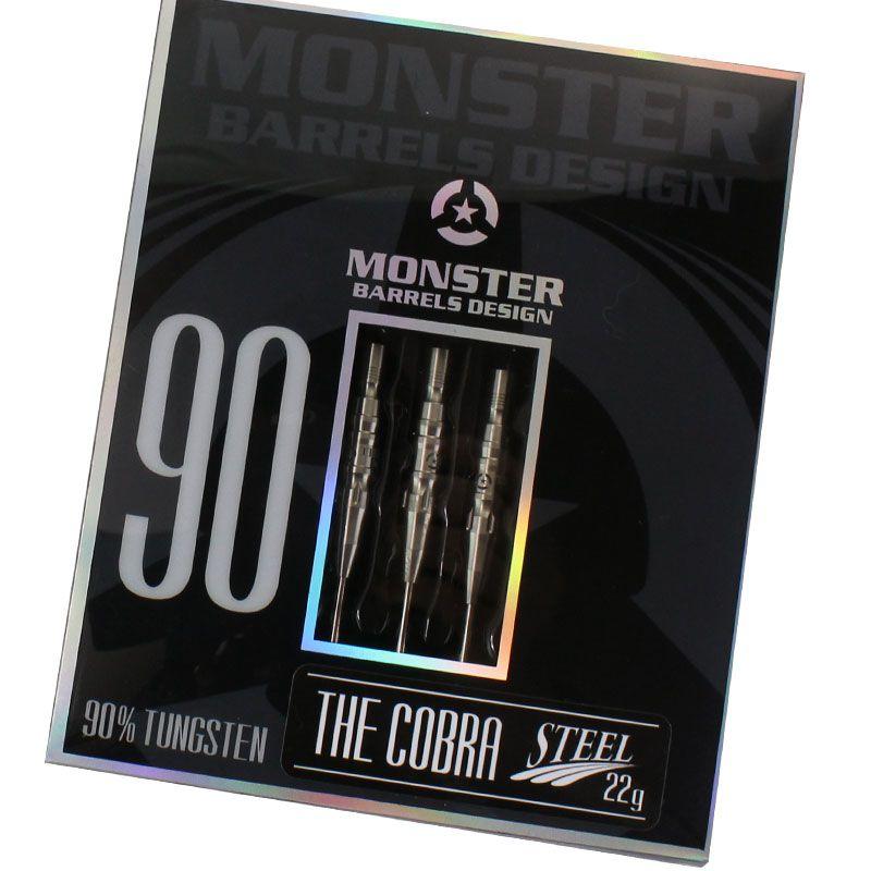 アウトレットセール!30%OFF!!【Monster】COBRA  モンスターダーツ コブラ ハードダーツ STEEL