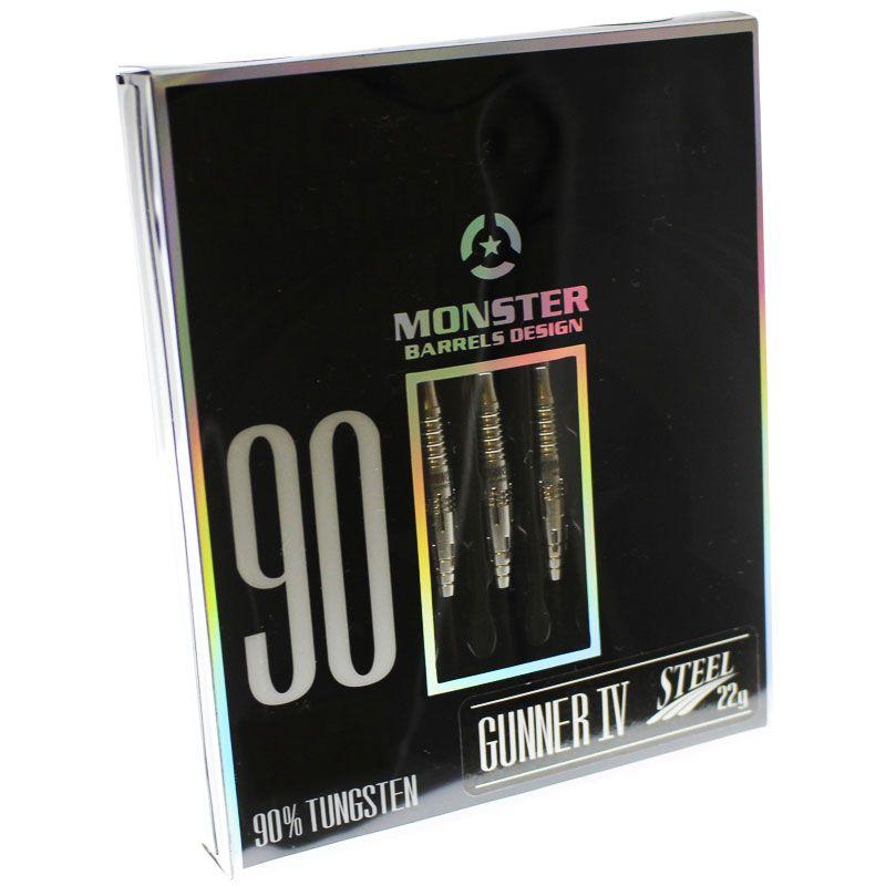 【Monster】GUNNER4 アンコーティング モンスター ハードダーツバレル ローレンスイラガン STEEL
