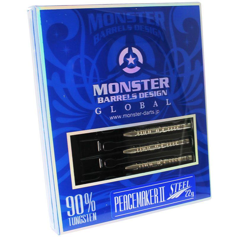 【Monster】 PEACEMAKER2  モンスター ハードダーツ ピースメーカー2 チャックパンコウモデル STEEL(スティール)