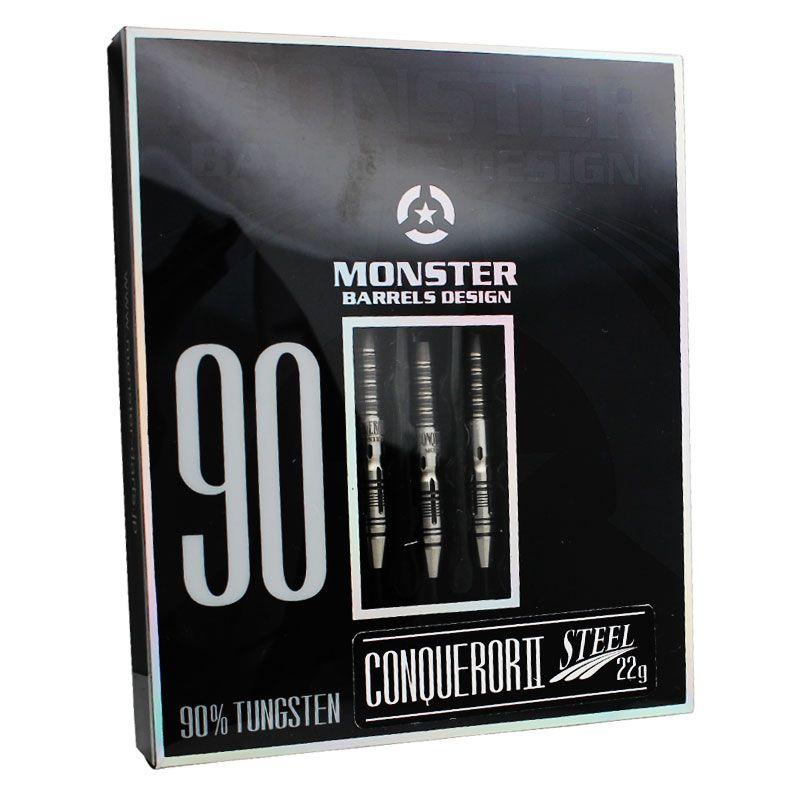 【Monster】CONQUEROR2 NEW STEEL モンスター ハードダーツ コンクァラー2 タングステンバレル