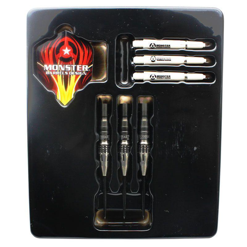 【Monster】COBRA3 STEEL モンスター ダーツ タングステンバレル ハード ヤラクラッセンモデル