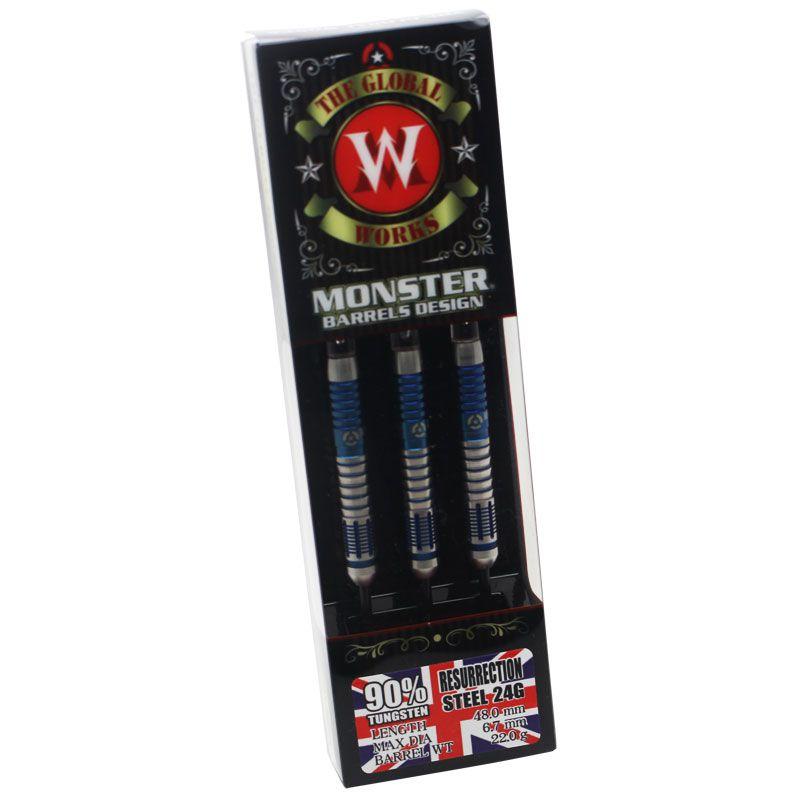 【Monster】 WORKSGLOBAL RESURRECTION STEEL リザレクション モンスター グローバルワーク イギリス ハードダーツ