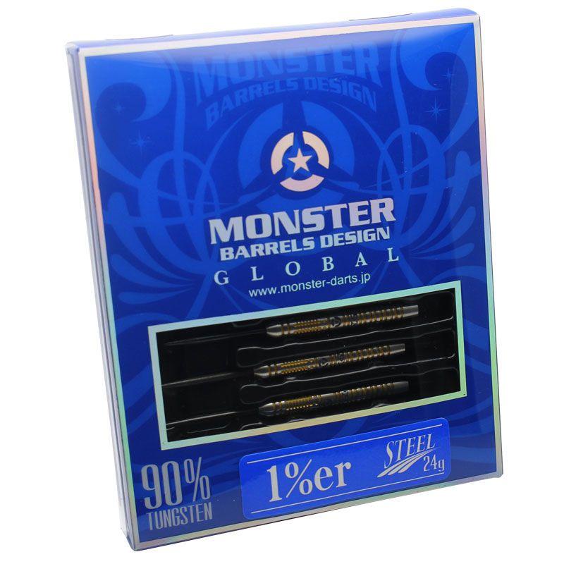 【Monster】1%er STEEL ワンパーセンター モンスター ダーツ ハードダーツ